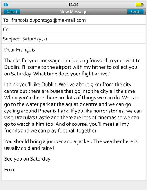 example of a formal letter Places to Visit Pinterest Formal - best of informal letter format sample cbse