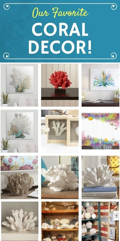 Coral Decor Discover The Best Coral Themed Decorations For Your