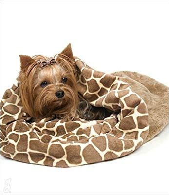 Amazon Com Giraffe Cuddle Cup Bed For Dogs By Susan Lanci Pet