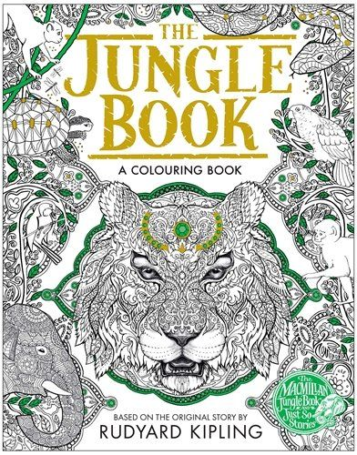The Jungle Book Colouring Book By Rudyard Kipling This Beautifully Produced Colouring Book Contains All Your F Dschungelbuch Wenn Du Mal Buch Rudyard Kipling