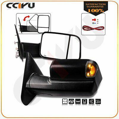 Sponsored Ebay Tow Mirrors Pair For 2002 08 Dodge Ram 1500 2500 3500 Power Heated Turn Signals In 2020 Dodge Ram 1500 Dodge Ram Ram 1500