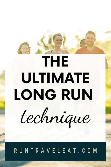 Wondering how on earth you're going to be able to run farther and faster? This technique will help push you through the mental barriers in your long runs. #runningtips #runningtechnique #runningforbeginners #runfaster #runner