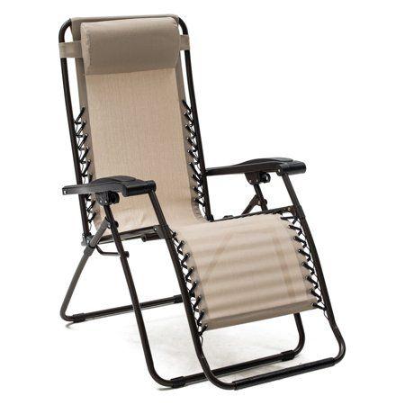 Patio Garden Outdoor Recliner Outdoor Chairs Zero Gravity Chair
