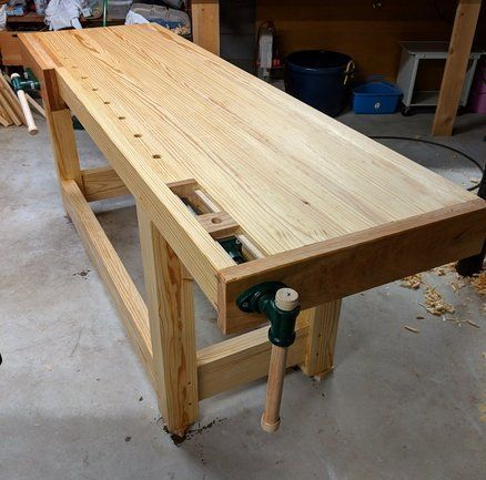 Bench Good Fast And Cheap Gsiw Workbench Woodwork Bench Ideas Best Woodworking Bench Building A S Woodworking Workbench Woodworking Bench Workbench