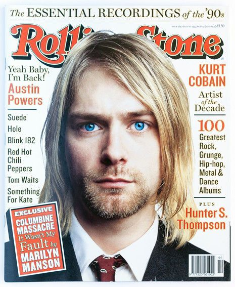 Rolling Stone Magazine Issue 564 August 1999 Kurt Cobain With