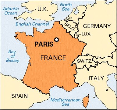 Where Is Paris On The Map My Blog - Where is france on the map