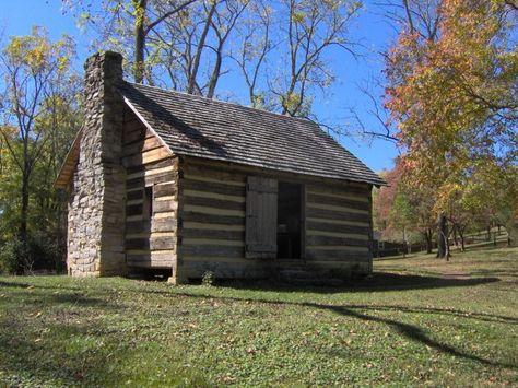 Sam Houston Schoolhouse, Maryville, TN, built 1794, via Wikipedia