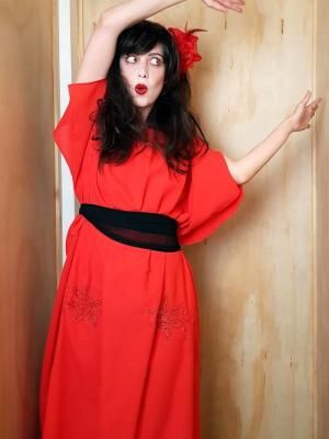 Kate Bush Wuthering Heights Adult Costume - 1970's Musicians