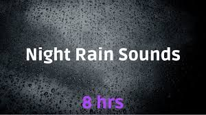 gentle night rain, soft rain, night rain, Night Rain for
