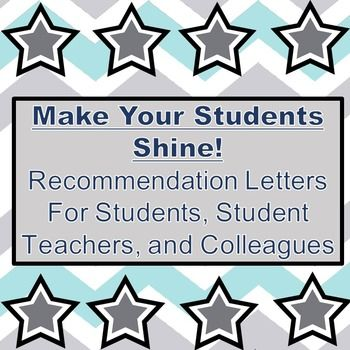 Do you have a hard time writing recommendation letters for your - recommendation letters