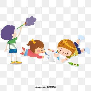 الأطفال يدرسون معا قصاصات فنية من الأطفال دراسة اقرأ كتاب Png وملف Psd للتحميل مجانا Multfilmy Risovat Iskusstvo