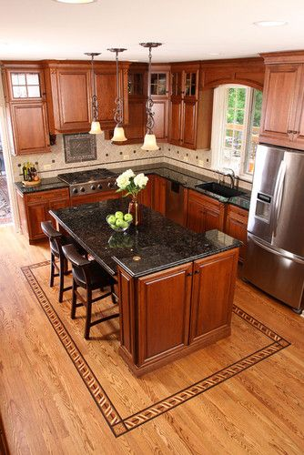 Small Kitchen Layouts Design, Pictures, Remodel, Decor and Ideas - small kitchen layout ideas