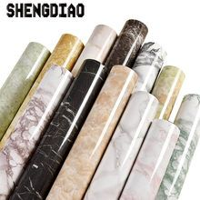 Thick Waterproof Pvc Imitation Marble Pattern Stickers