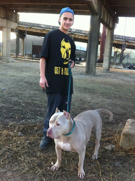 I think Rhino is the epitome of a gorgeous Pit. He is handsome, strong, loving devoted!