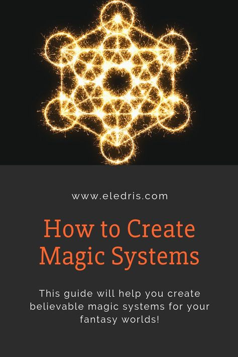 For all worldbuilders and writers of fantasy, here's a guide about creating good magic systems!  Click to see the full post! Save this to your Writing boards!