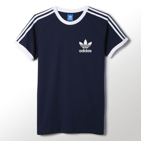 adidas CLFN T Shirt VAPOUR PINK F16SUPER GOLD S12WHITE