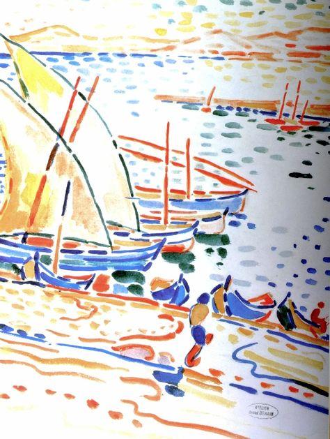 Derain Collioure Fauvisme Les Arts Aquarelles Faciles