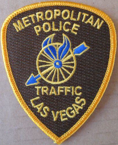 Las Vegas Metropolitan Police Traffic Patch Police Patches Police Texas Police