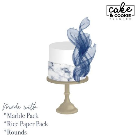 Cake Tiers + Cake Slices BUNDLE Procreate Pack - Digital Cake Sketchin – Avalon Cakes | Cake and Cookie Planner Cake Sketch, The Make, How To Make, Marble Cake, Dream Cake, Marble Texture, Stamp Making, Color Swatches, Rice Paper