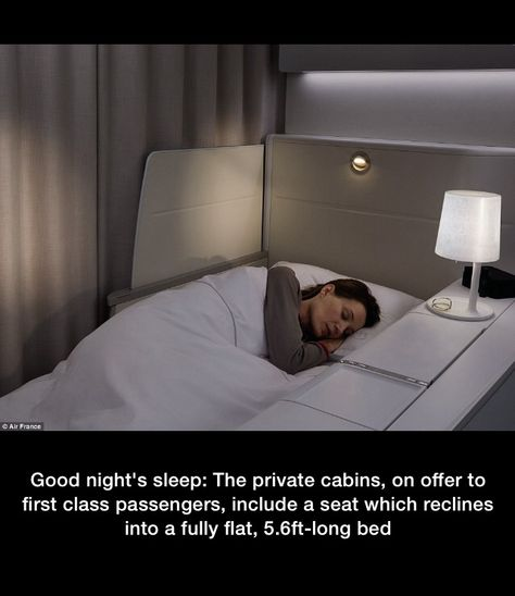 Travel Air France La Premiere Cabin Bed Air France First