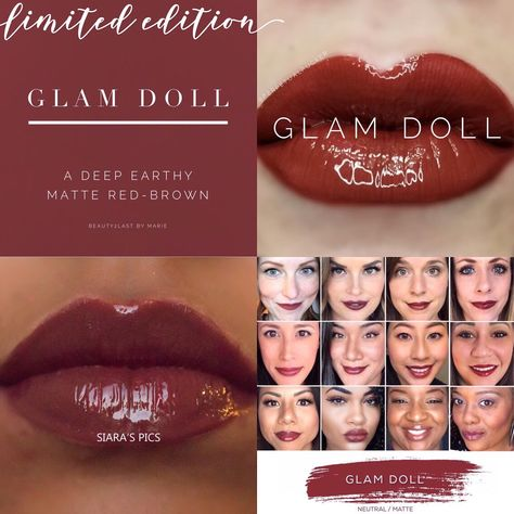 Glam Doll LipSense lips and selfies! Glam Doll is a neutral brown with a touch of red lip color perfect for fall. LipSense is a long lasting lip color that will last 4-18 hours when worn with our gloss, and is smudge proof, budge proof, water resistant, and kiss proof!