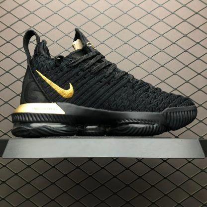 Nike LeBron 16 I'm King Black Gold To