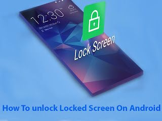 How To Bypass Any Android Phone Lock Screen Pin Pattern Password