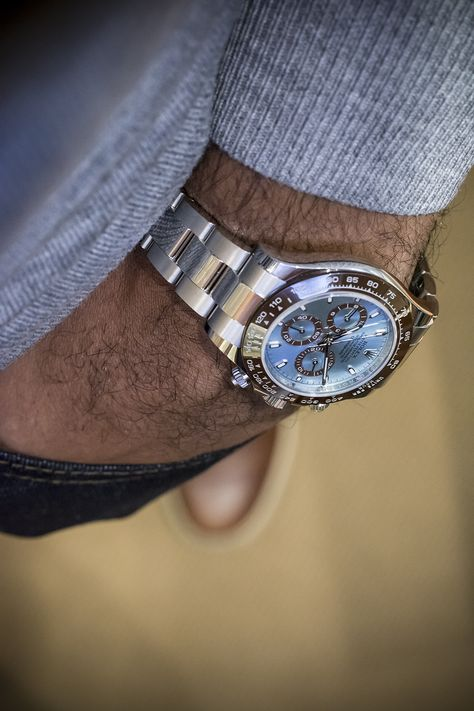 bexsonn: The new Platinum Rolex Daytona - via