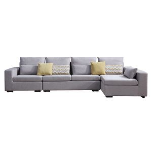 Fabric Sofa Furniture Corner Sofa Set Living Room Modern Designs
