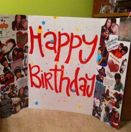Boyfriend Happy Birthday Posters