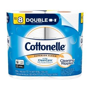 Cottonelle Ultra Cleancare Toilet Paper Strong Bath Tissue Septic Safe 4 Double Rolls 4 Ct Cvs In 2020 Bath Tissue Biodegradable Products Flushable Wipes