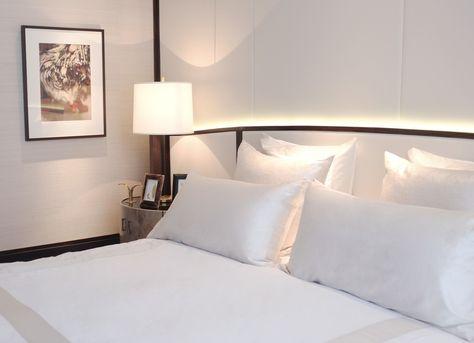 Toronto Penthouse Model Suite Master Bedroom