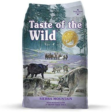 Taste Of The Wild Grain Free High Protein Real Meat Recipe Sierra