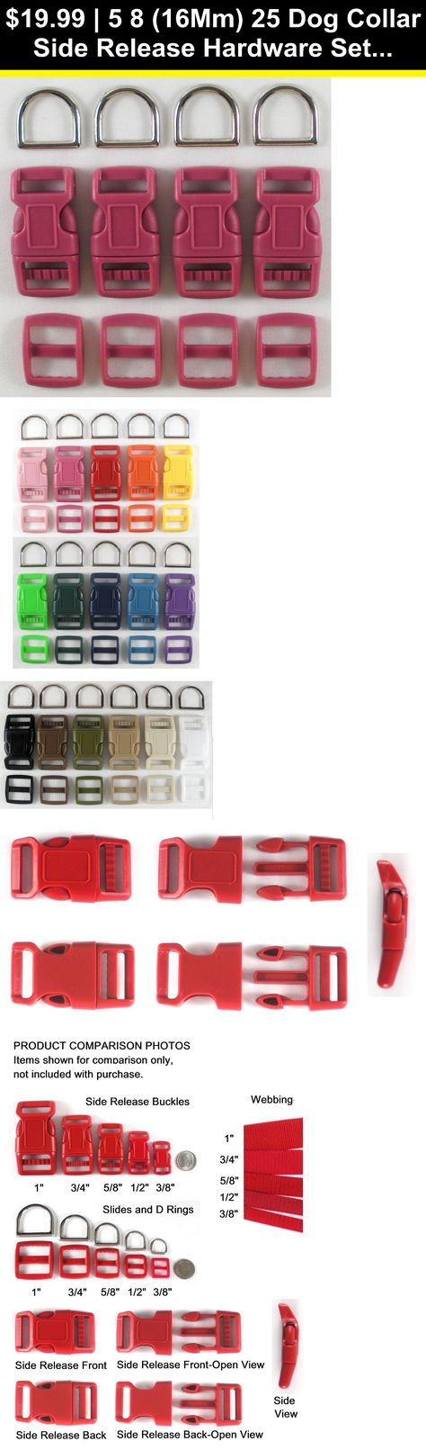 """10X Strong Plastic 3//4/""""~1-1//2/"""" Side Release Buckles Backpack Strap Webbing Parts"""