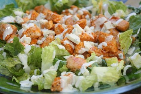 Slow Cooker Buffalo Chicken Salad - dialysis friendly