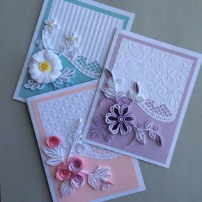 Quilled Card for any Ocassion   Etsy