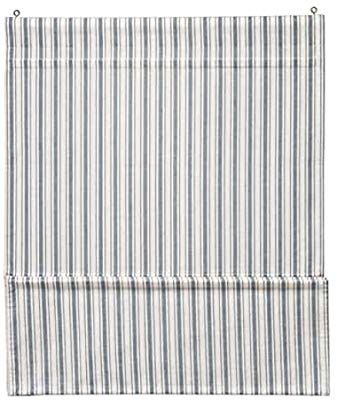 Amazon Com Ikea Ringblomma Roman Blind White Blue 304 411 82 Size