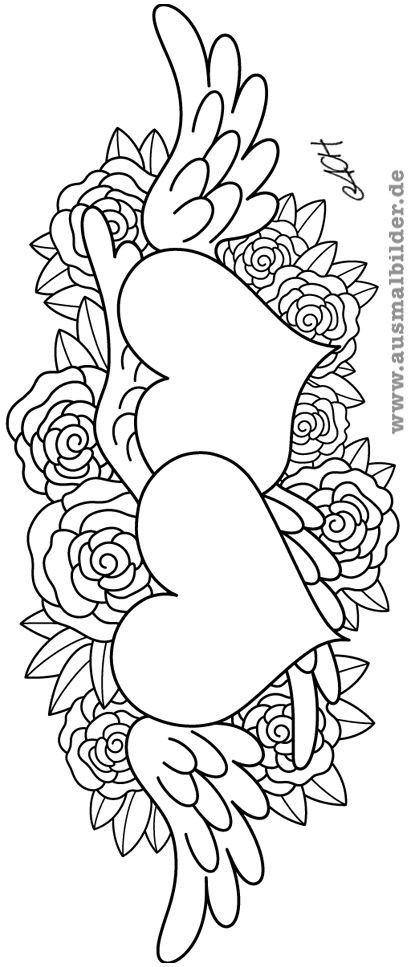 99 Genial Mandala Zum Ausdrucken Rosen Das Bild Heart Coloring Pages Love Coloring Pages Coloring Pages