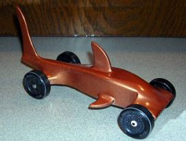 Shark Pinewood Derby Cars Hammerhead Shark Car Alex