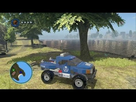 Lego Marvel Super Heroes All 45 Land Vehicles In Action Lego