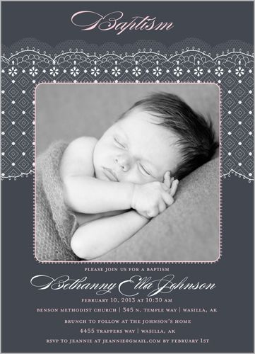 14 best Baptism invitations images on Pinterest Baptism ideas