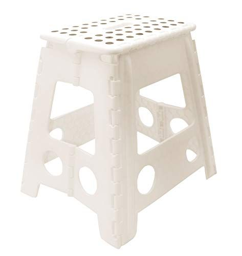 Sgabelli Pieghevoli In Plastica.Zollner Sgabello Pieghevole In Plastica Bianco 39 Cm A Https