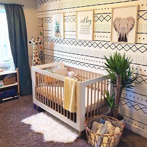Baby Room Themes Jungle Safari Nursery 30 Ideas In 2020 Baby Boy Room Nursery Nursery Room Boy Baby Room Themes