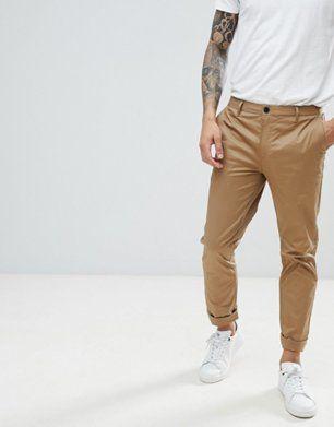 River Island Pantalon chino slim Fauve | Pantalon chino