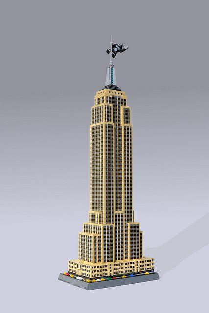 Empire State Building Lego Architecture Lego Modular Micro Lego