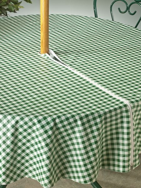 Umbrella Tablecloth With Zipper Outdoor Tablecloth Outdoor