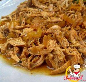 Resep Dari Ayam Resep Ayam Suwir Resep Ayam Suwir Hajatan Clubmasak Com Resep Ayam Resep Masakan Indonesia