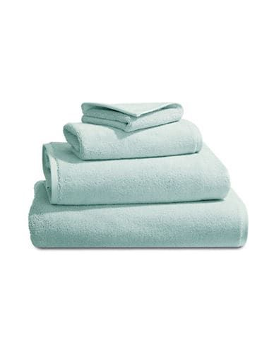 Glucksteinhome Aegean Cotton Wash Towel Aqua Size Washcloth In 2020 Bath Towels Bath Sheets Towel