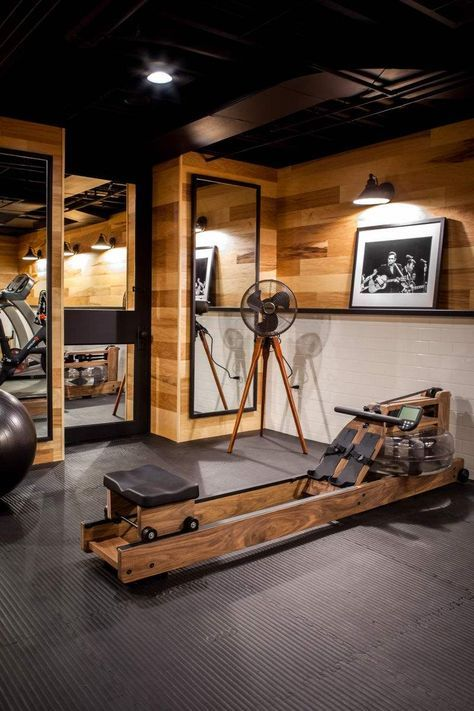 54 Ideas Home Gym Industrial Workout Rooms Home Gym Decor Gym