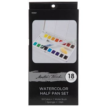 Master S Touch Watercolor Paints 18 Piece Set In 2020